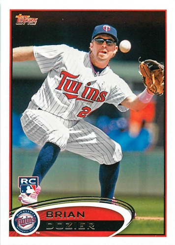Photo of 2012 Topps Update #US161 Brian Dozier RC
