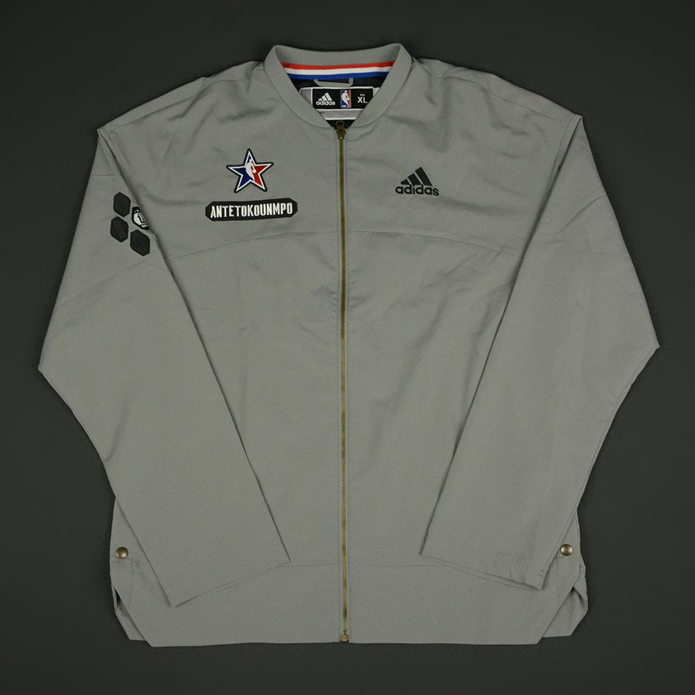 Giannis Antetokounmpo - 2017 NBA All-Star Game - Eastern Conference - Warmup-Worn Jacket