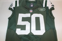 BCA - JETS DARRON LEE GAME ISSUED AND SIGNED JETS JERSEY (OCTOBER 23 2016)