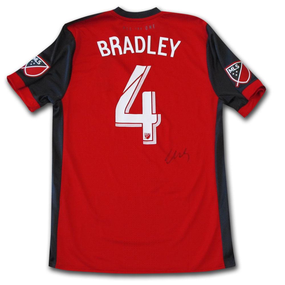 Michael Bradley Autographed Toronto FC Jersey