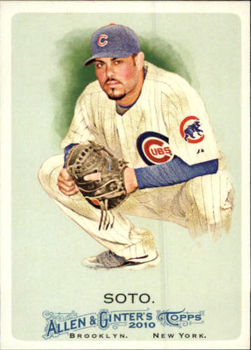 Photo of 2010 Topps Allen and Ginter #246 Geovany Soto