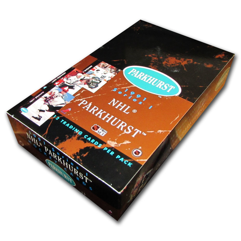 1991 Parkhurst Series 1 Hockey Card Box