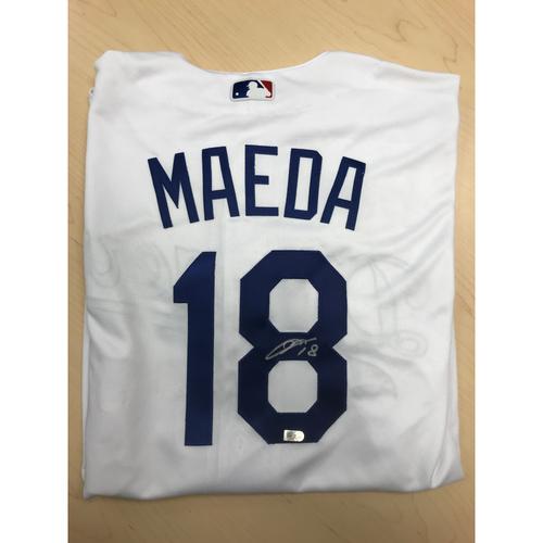 Photo of LA Dodgers Foundation Online Auction: Kenta Maeda Authentic Autographed Jersey