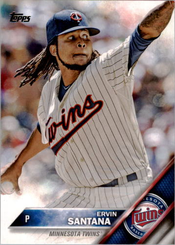 Photo of 2016 Topps #262 Ervin Santana