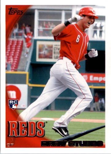 Photo of 2010 Topps #64 Drew Stubbs RC