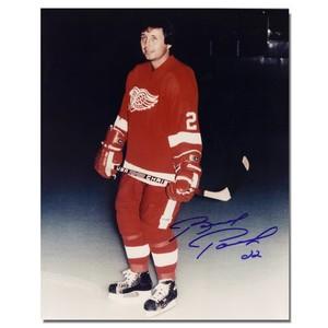 Brad Park Autographed Detroit Red Wings 8x10 Photo