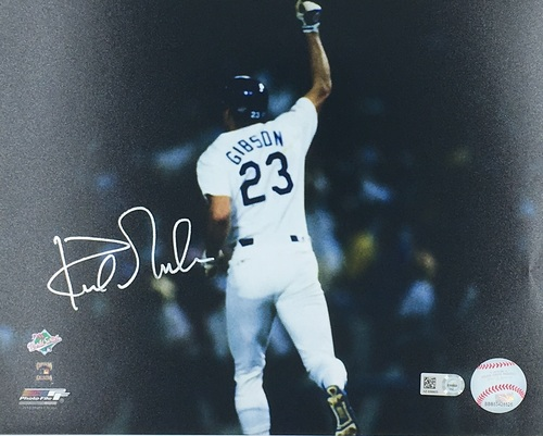 Photo of Kirk Gibson Autographed 16x20 (Homerun)