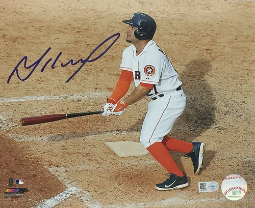 Photo of Jose Altuve Autographed 8x10