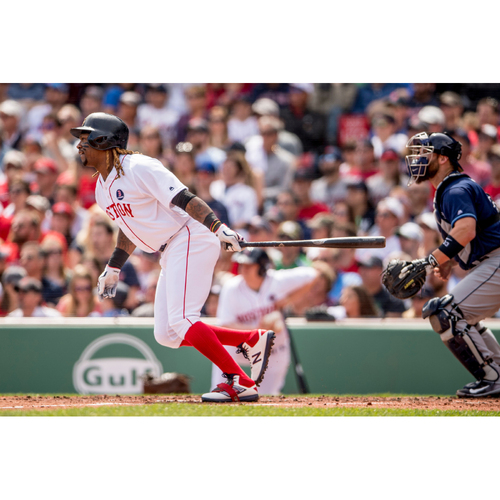 Photo of Red Sox Foundation Patriots' Day - Hanley Ramirez Game-Used and Autographed Jersey