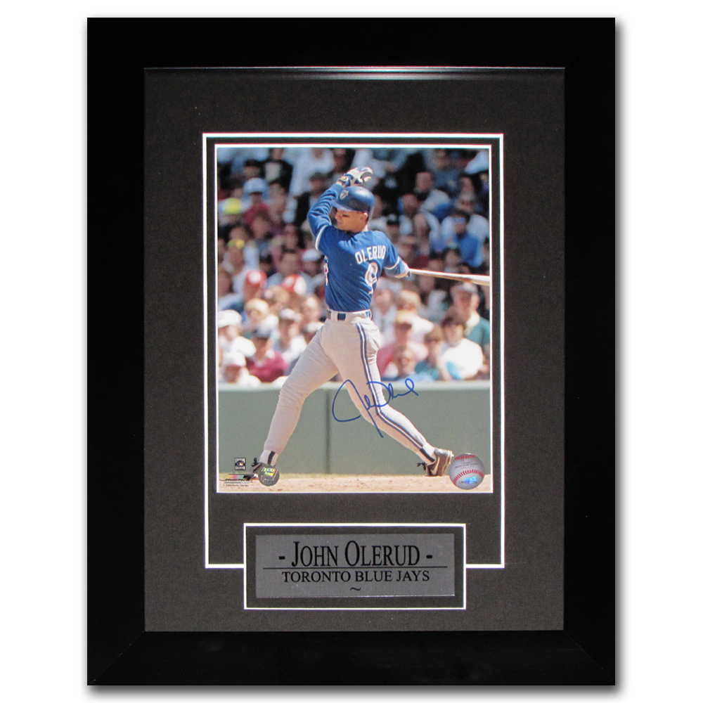 John Olerud Autographed Toronto Blue Jays Framed 8X10 Photo