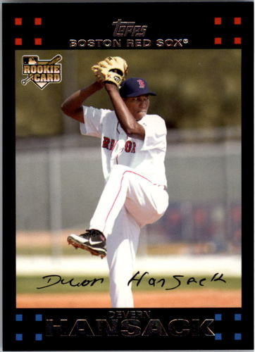 Photo of 2007 Topps #646 Devern Hansack RC
