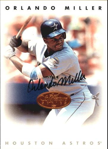 Photo of 1996 Leaf Signature Autographs #156 Orlando Miller