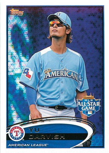 Photo of 2012 Topps Update #US162A Yu Darvish RC