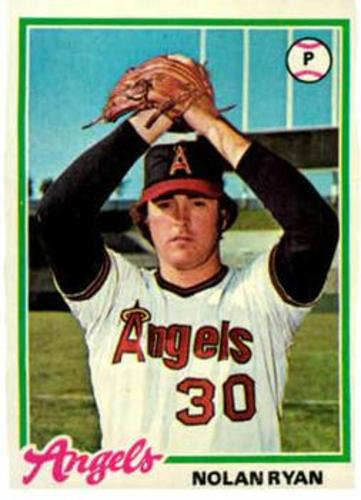 Photo of 1978 Topps #400 Nolan Ryan -- Hall of Famer