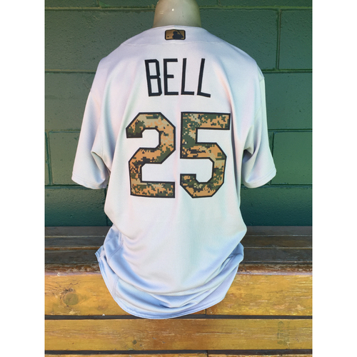 Photo of Cardinals Authentics: David Bell Memorial Day Jersey