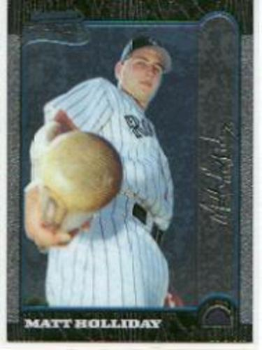 Photo of 1999 Bowman Chrome #400 Matt Holliday RC
