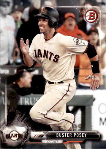 Photo of 2017 Bowman #15 Buster Posey