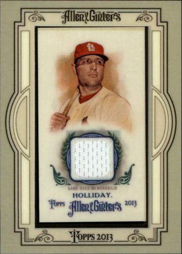 Photo of 2013 Topps Allen and Ginter Framed Mini Relics Matt Holliday -- Yankees post-season