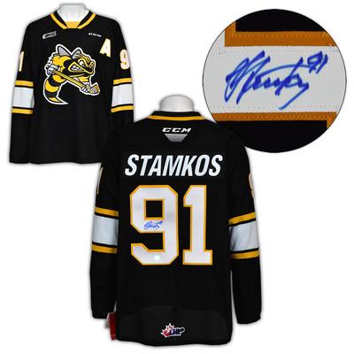 Steven Stamkos Sarnia Sting Autographed CCM CHL Replica Hockey Jersey