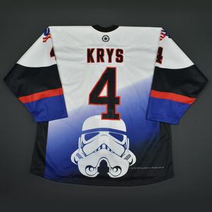 Chad Krys - 2016 U.S. National Under-18 Development Team - Star Wars Night Game-Worn Jersey