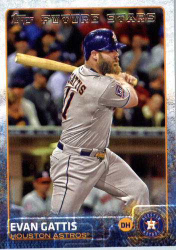 Photo of 2015 Topps Update #US11 Evan Gattis FS