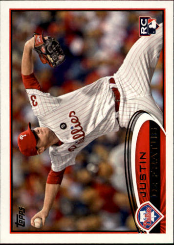 Photo of 2012 Topps #243 Justin De Fratus RC