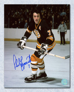 Phil Esposito Boston Bruins Autographed Game Action 16x20 Photo