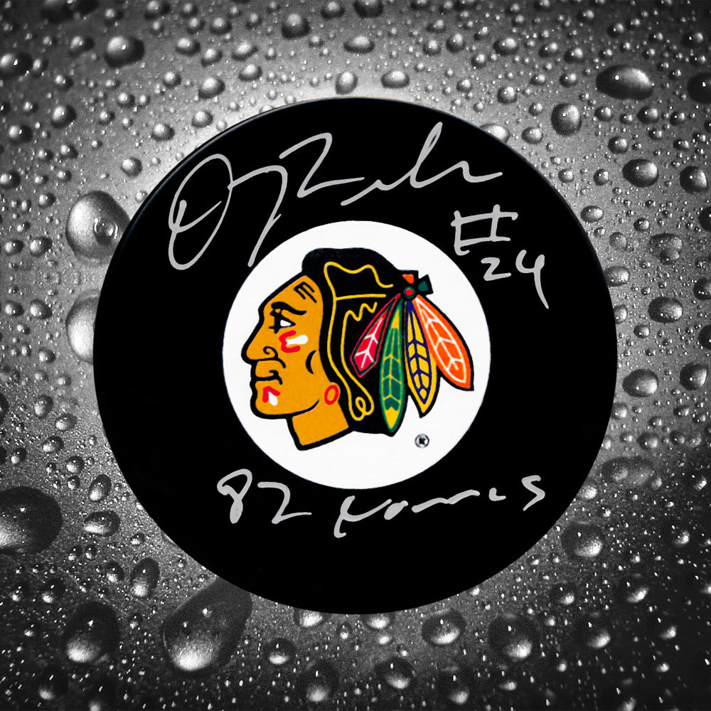 Doug Wilson Chicago Blackhawks Norris 82 Autographed Puck