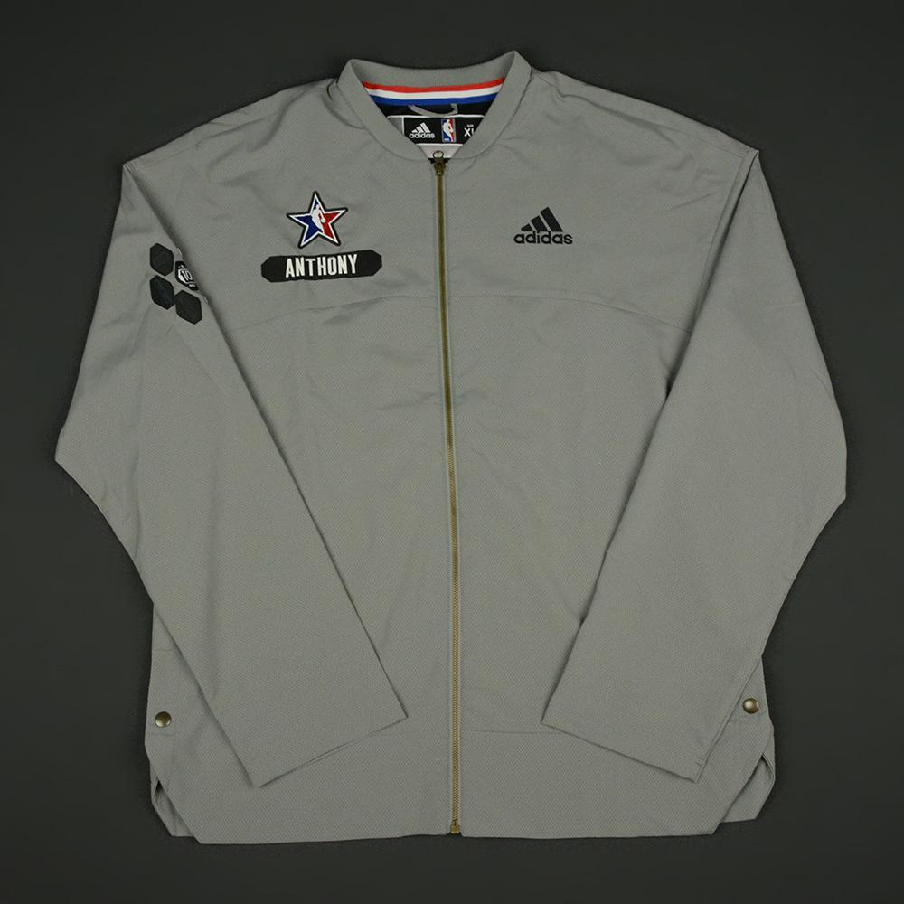 Carmelo Anthony - 2017 NBA All-Star Game - Eastern Conference - Warmup-Worn Jacket