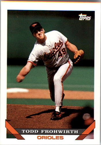 Photo of 1993 Topps #415 Todd Frohwirth