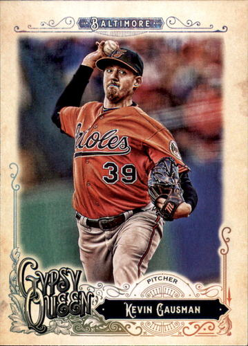 Photo of 2017 Topps Gypsy Queen #49 Kevin Gausman