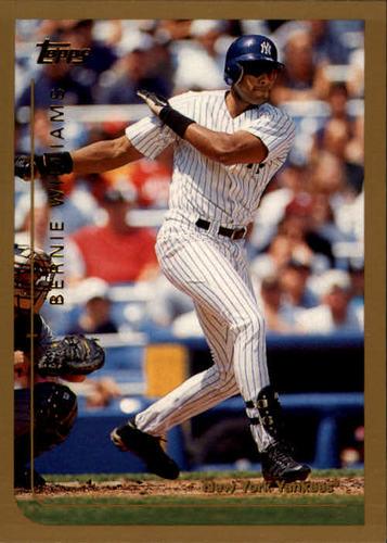Photo of 1999 Topps #335 Bernie Williams