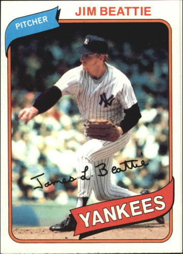 Photo of 1980 Topps #334 Jim Beattie