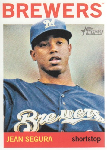 Photo of 2013 Topps Heritage #214 Jean Segura