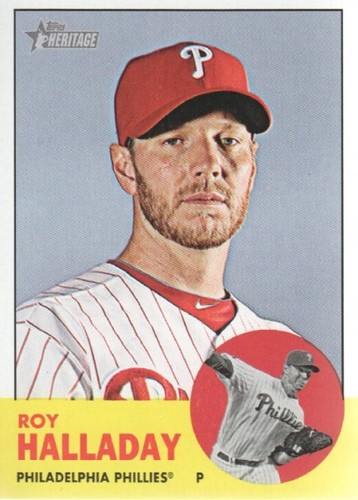 Photo of 2012 Topps Heritage #91A Roy Halladay