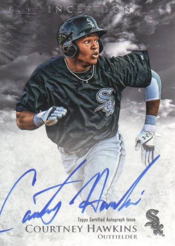 Photo of 2013 Bowman Inception Prospect Autographs #CH Courtney Hawkins