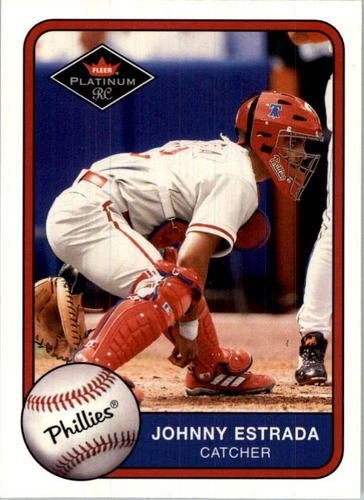Photo of 2001 Fleer Platinum #541 Johnny Estrada RC