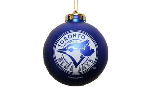 Toronto Blue Jays Shatterproof Blue Jays Royal Ball Ornament by The Sports Vault