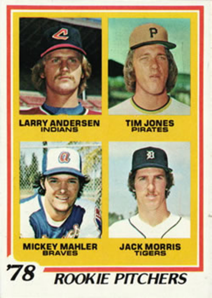 1978 Topps #703 Rookie Pitchers Jack Morris Rookie Card