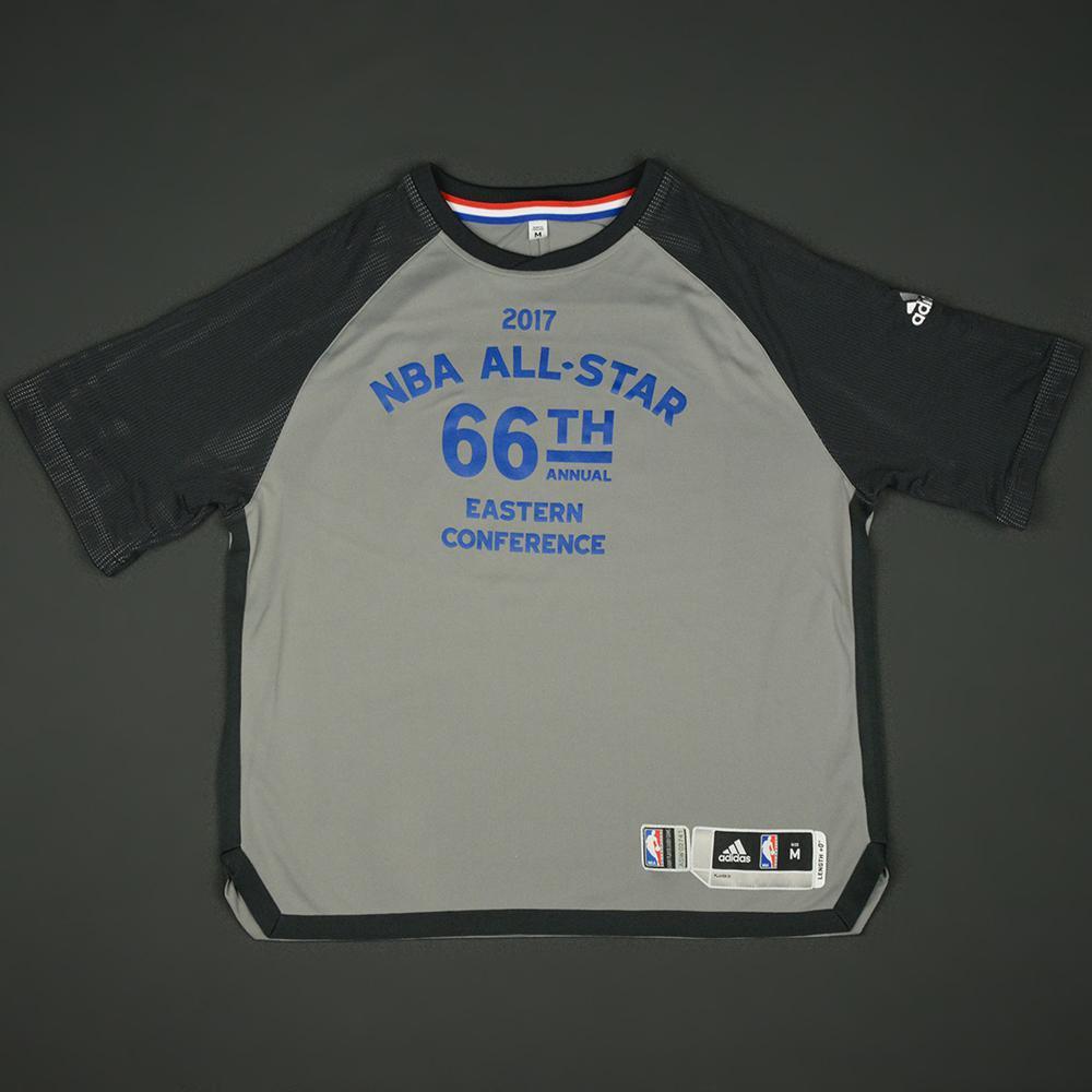 Kemba Walker - 2017 NBA All-Star Game - Eastern Conference - Warmup-Worn Shooting Shirt