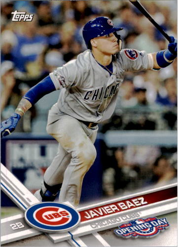 Photo of 2017 Topps Opening Day #133A Javier Baez