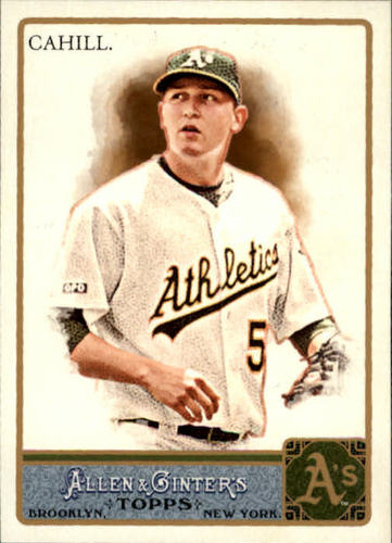 Photo of 2011 Topps Allen and Ginter #322 Trevor Cahill SP