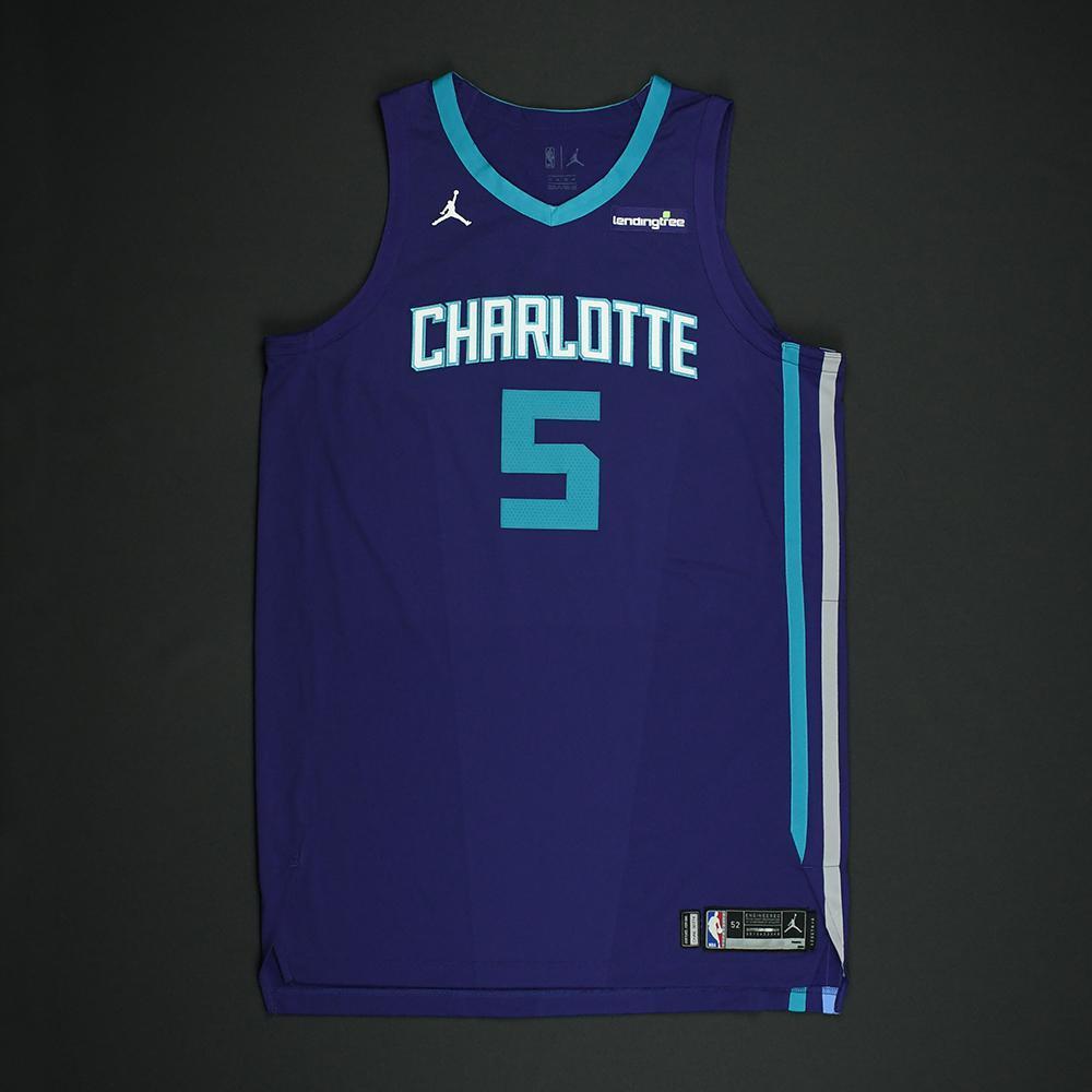 Nicolas Batum - Charlotte Hornets - Game-Worn 'Statement' Jersey - 2017-18 Season