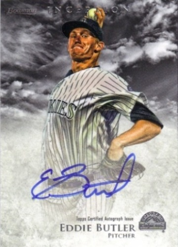 Photo of 2013 Bowman Inception Prospect Autographs #EB Eddie Butler