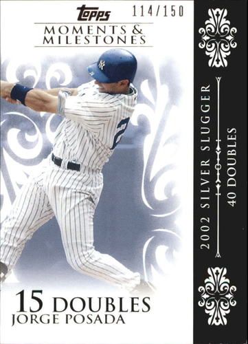 Photo of 2008 Topps Moments and Milestones #65-15 Jorge Posada