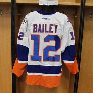 Josh Bailey - Game Worn Away Jersey - 2015-16 Season - New York Islanders