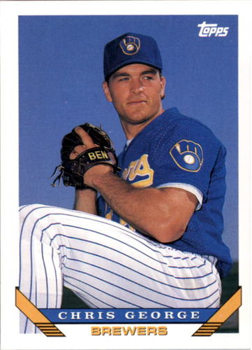 Photo of 1993 Topps #744 Chris George