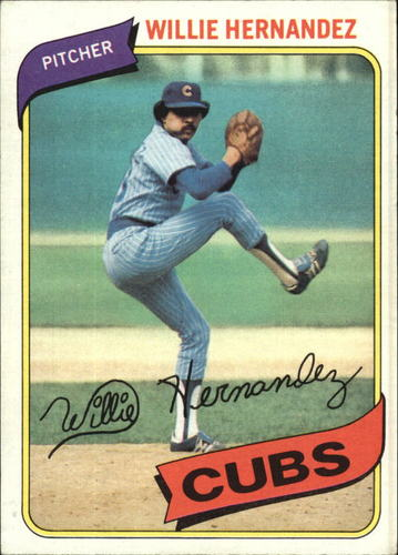 Photo of 1980 Topps #472 Willie Hernandez