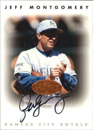Photo of 1996 Leaf Signature Autographs #160 Jeff Montgomery
