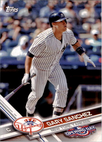 Photo of 2017 Topps Opening Day #170A Gary Sanchez